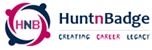 huntnbadge website logo